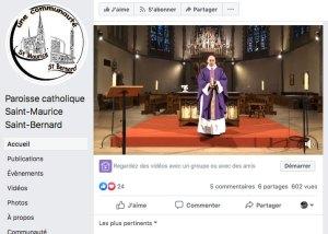 messe - Messe virtuelle : « Le lien virtuel n'estpas complètement virtuel»