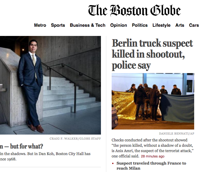 El caso The Boston Globe