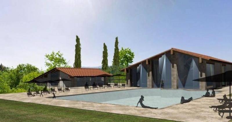 San Quirico dOrcia Al via i lavori per lo stabilimento termale pubblico di Bagno Vignoni