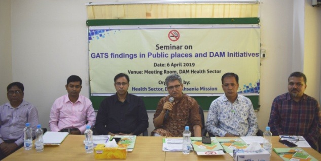 Seminar on GATS Findings & DAM's Initiatives for Tobacco Control
