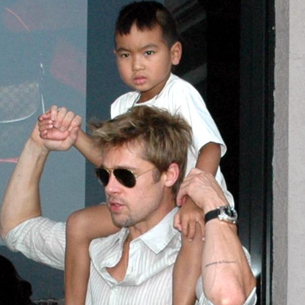Brad Pitt, Maddox Jolie Pitt