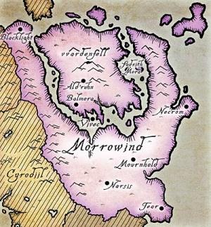 Carte de Morrowind