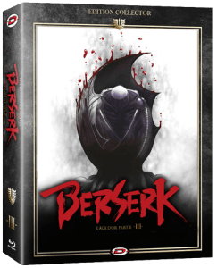 Berserk l'Âge d'or III : L'Avent • Edition Combo Collector Combo Blu-ray • DVD Collector DTS
