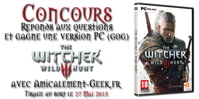 Concours witcher3