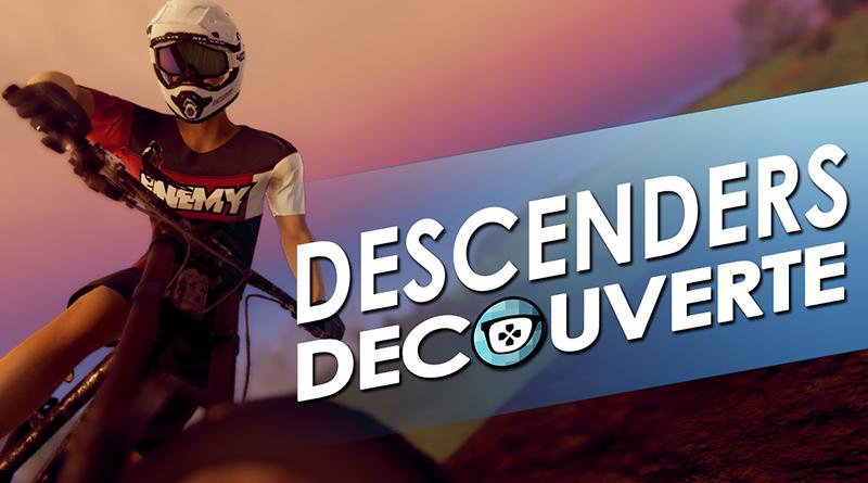 Descenders découverte vidéo d'un jeu de BMX bien fun !