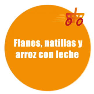 FLANES, NATILLAS Y ARROZ CON LECHE