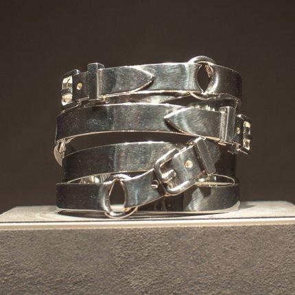 Bracciale in argento di Hermès