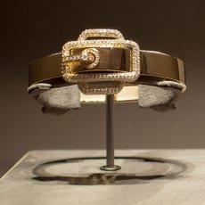 Bracciale in oro e diamanti Hermès