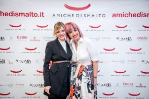 Con samantha Catini, ufficio stampa del Beauty Party