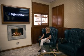 Foto all'interno de Le Cognac Lounge