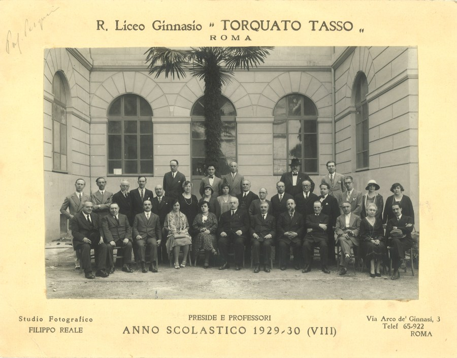 1930  Corpo Docente
