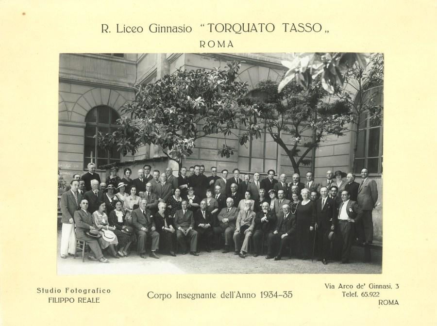 1935  Corpo Docente
