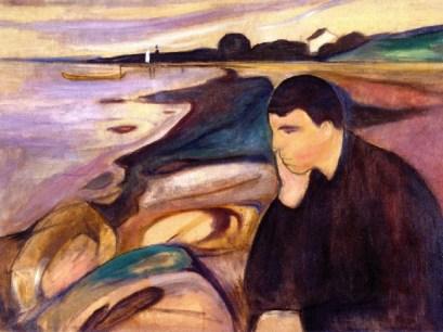 """Melancholy""Edward Munch"