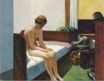 """Stanza d'albergo"" Edward Hopper"