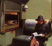 """Compartment C, Car""Edward Hopper"