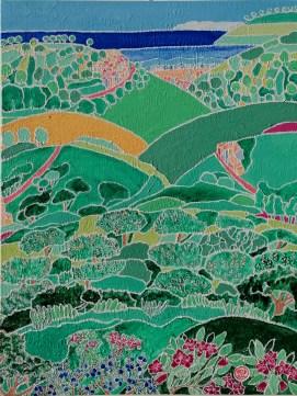 Marie Watle - Confetti liguri - colori acrilici - cm. 70 x 90