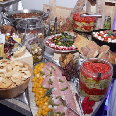 Buffet Table at a Special Event