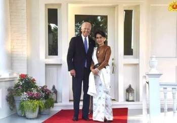 Tempo di elezioni: Aung San Suu Kyi insieme a Joe Biden