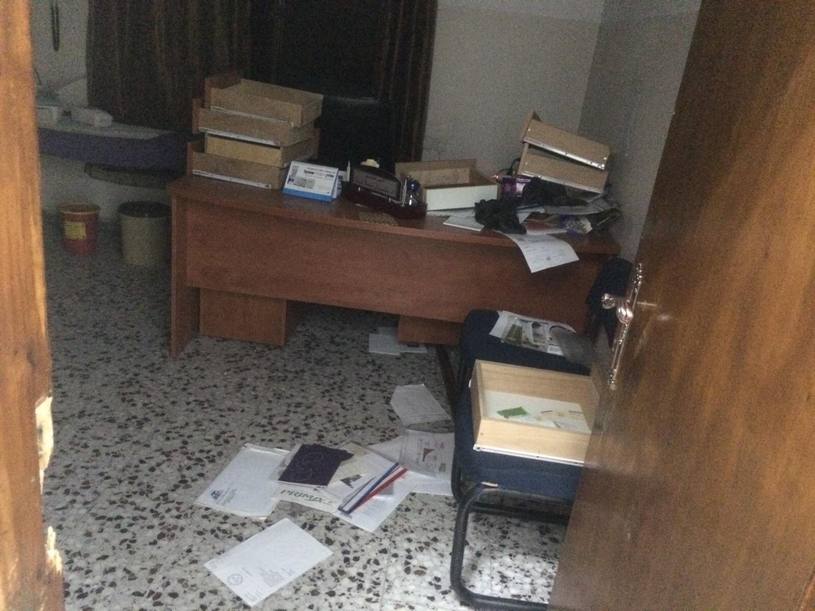Attacco israeliano al Centro medico Al Sadaqa di Betlemme