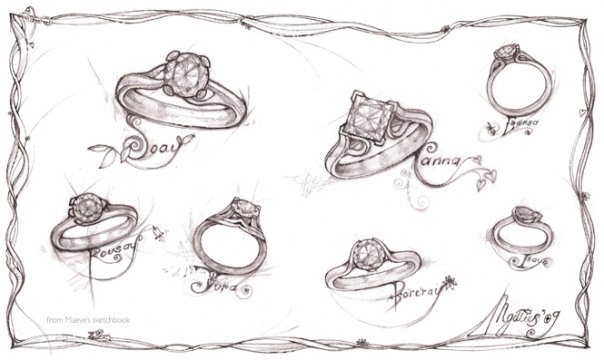 MaeVona Diamond Engagement Rings