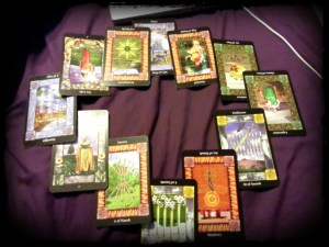 Tarot Reading, Dec 2013