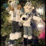Yule Bear and Goat