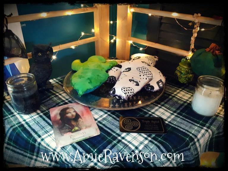 Yule Altar 3