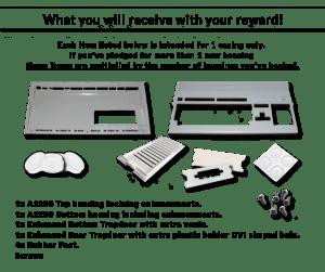Nouvelle coque pour Amiga1200 (projet kicstarter de Juillet 2015)