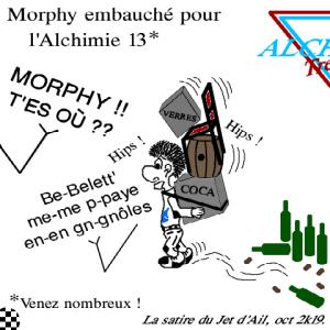 Morphy roule pour Belett' à l'Alchimie 13 !