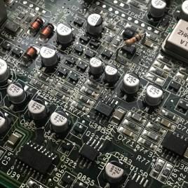 SMD Capacitors Amiga CD32