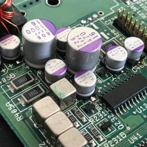 Amiga Polymer Capacitors