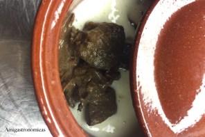 Civet de Jabalí con parmentier de Camagrocs