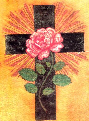 Resultado de imagem para rosa na cruz