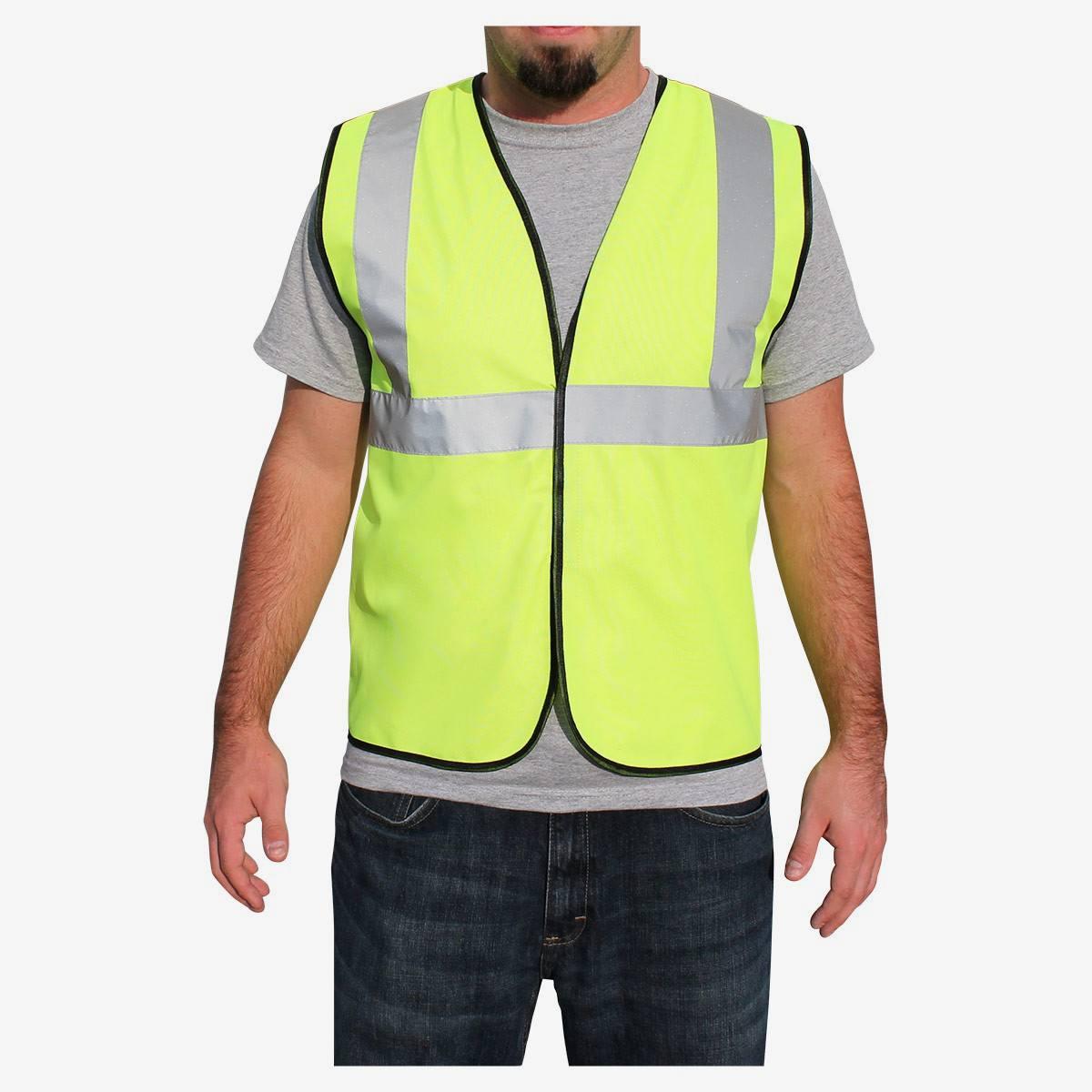 Rugged Blue Ansi Class 2 Economy Safety Vest