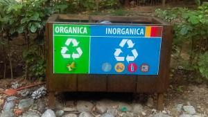 Manejo de residuos Cadena de cascadas el Chiflón