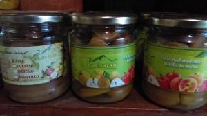 Oferta de productos locales en Lachatao