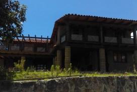 Cabañas de adobe en Santa Catarina Lachatao