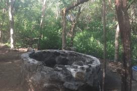 Recoleción de agua pluvial en Copalita