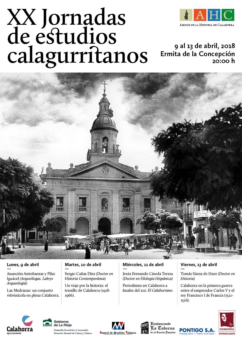 Resultado de imagen de XX jornadas estudios calagurritanos