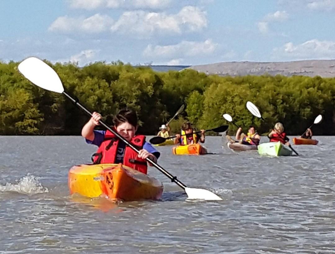 Youth Kayaking