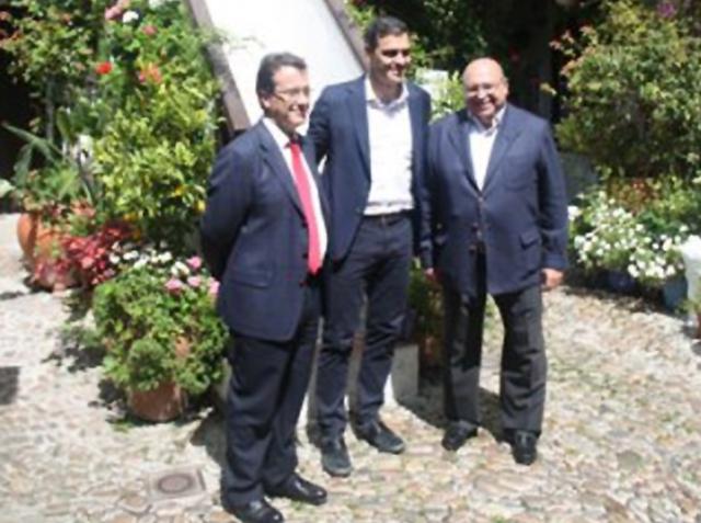 """Visita Pedro Sánchez a """"Los Patios de Córdoba"""""""