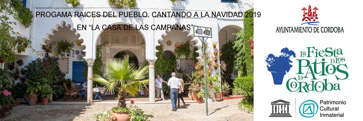 PROGAMA RAICES DEL PUEBLO. CANTANDO A LA NAVIDAD 2019