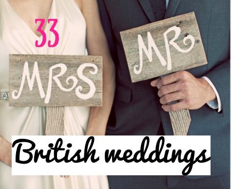 British weddings