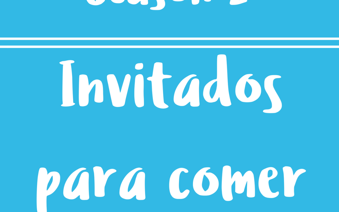 38 – Invitados para Comer – Diálogos en inglés