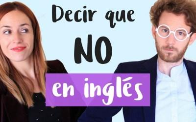 10 maneras diferentes de decir que NO en inglés