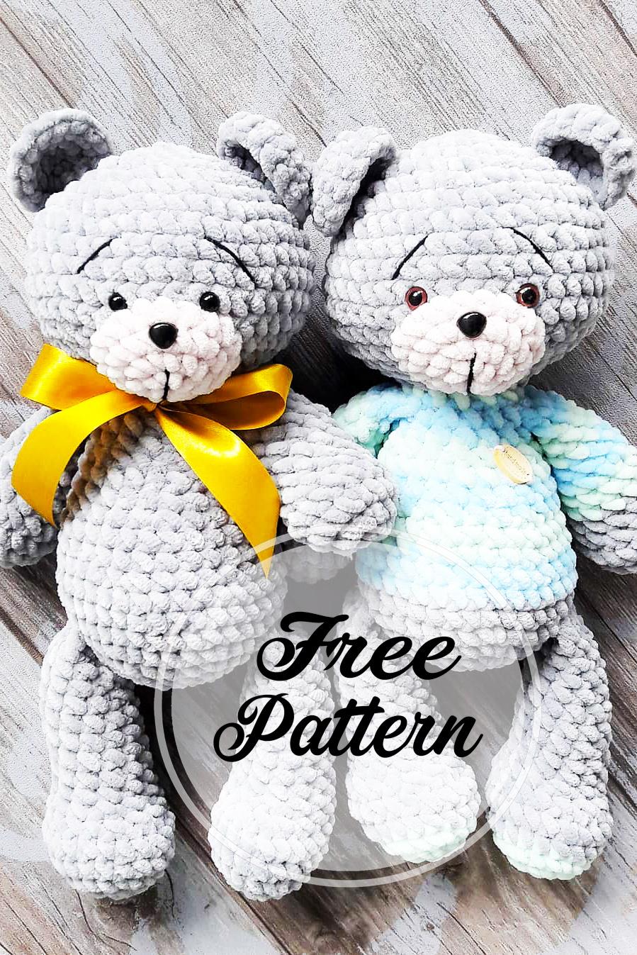 amigurumi crochet ourson yourorigami info