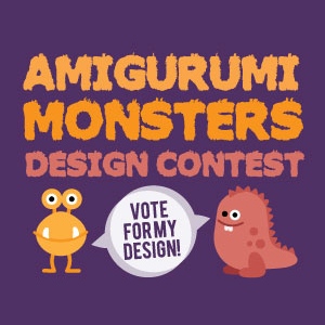 Amigurumi Patterns Contest : Amigurumi Monsters Design Contest Vote for your ...