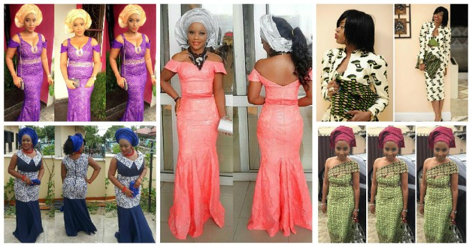 Amazing Asoebi Styles Lace Inspired.