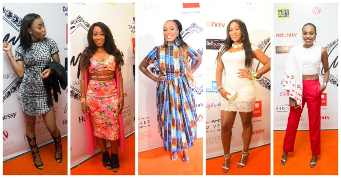 celebrities at dj cuppy's event cuppy takes africa tour-amillionstyles