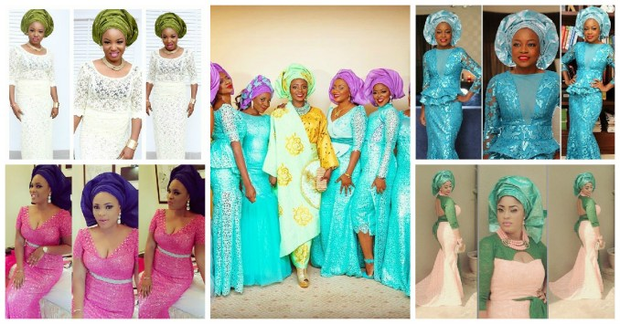 colorful asoebi in lace book 7 amillionstyles featured